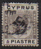 Cyprus Stamps SG 104 1924 Half Piastre - USED (e491)