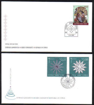 Cyprus Stamps SG 1262-64 2011 Christmas - Official FDC