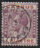 Cyprus Stamps SG 106 1924 One Piastre - USED (e505)