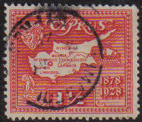 Cyprus Stamps SG 125 1928 One and a half Piastres - USED (e607)