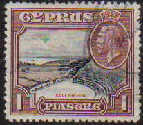 Cyprus Stamps SG 136 1934 1 Piastre - USED (e637)