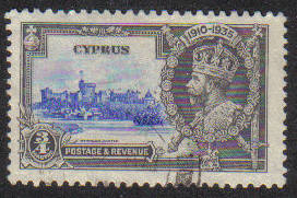Cyprus Stamps SG 144 1935 3/4 Piastre - USED (e598)