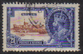 Cyprus Stamps SG 146 1935 2 1/2 Piastres - USED (e594)