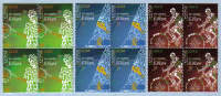 Cyprus Stamps SG 1190-92 2009 XIII Games of the Small States of Europe - Block of 4 MINT