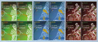 Cyprus Stamps SG 1190-92 2009 XIII Games of the Small States of Europe - Bl