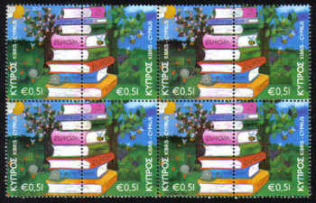 Cyprus Stamps SG 1219-20 2010 Europa Childrens books - Block of 4 MINT