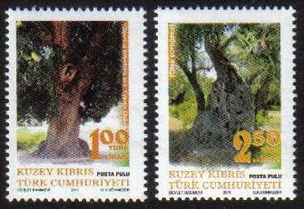 North Cyprus Stamps SG 2011 (e) Century old trees - MINT