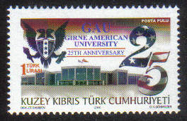 North Cyprus Stamps SG 0716 2010 25th Anniversary of Girne American univers