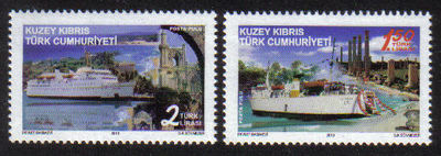 North Cyprus Stamps SG 0710 2010 Passenger ships which sail to Cyprus - MIN