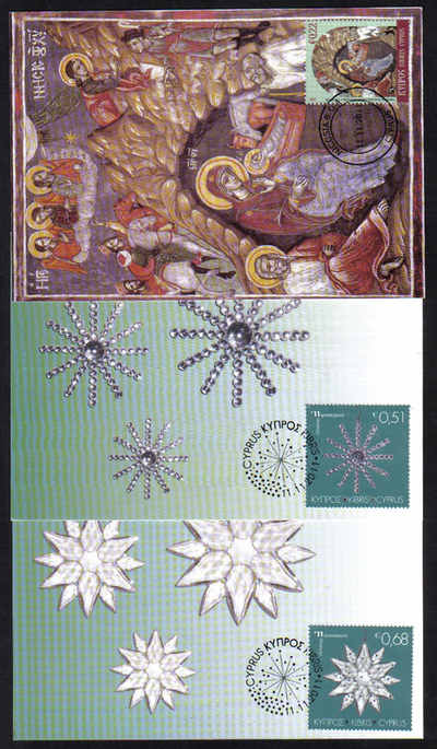 2011 Christmas Maxim cards