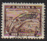 Malta Stamps SG 0217 1938 1/4 Penny - USED (e864)