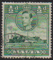 Malta Stamps SG 0218 1938 1/2 Penny - USED (e865)