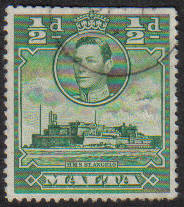 Malta Stamps SG 0218 1938 1/2 Penny - USED (e867)