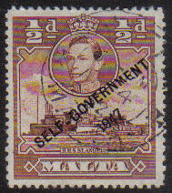 Malta Stamps SG 0235 1948 1/2 Penny - USED (e877)