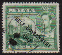 Malta Stamps SG 0236 1948 1 Penny - USED (e879)