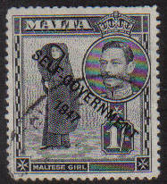 Malta Stamps SG 0243 1948 One Shilling - USED (e886)