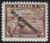 Malta Stamps SG 0234 1948 1/4 Penny - MLH (e874)