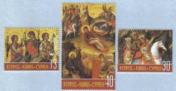 Cyprus Stamps SG 1066-68 2003 Christmas - MINT
