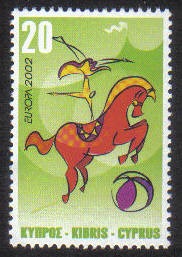 Cyprus Stamps SG 1029 2002 20c - MINT