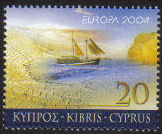 Cyprus Stamps SG 1073 2004 20c - MINT