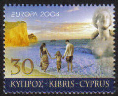 Cyprus Stamps SG 1074 2004 30c - MINT