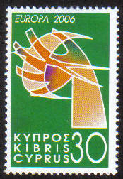 Cyprus Stamps SG 1110 2006 Europa 30c - MINT