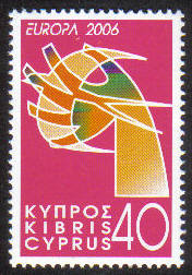 Cyprus Stamps SG 1111 2006 Europa 40c - MINT