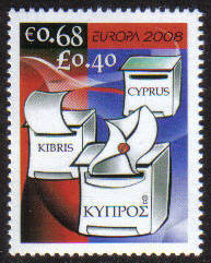 Cyprus Stamps SG 1163 2008 68c - MINT