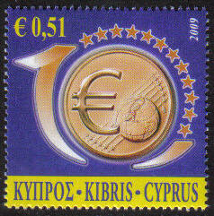 Cyprus Stamps SG 1182 2009 51c - MINT
