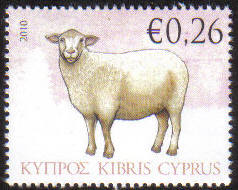 Cyprus Stamps SG 1213 2010 Sheep 26c - MINT