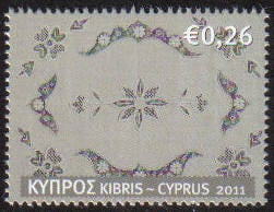 Cyprus Stamps SG 1241 2011 26c - MINT
