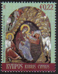 Cyprus Stamps SG 1260 2011 Christmas 22c - MINT