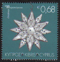Cyprus Stamps SG 1264 2011 Christmas 68c - MINT