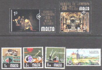 Malta Stamps 1970s Selection - USED (e900)