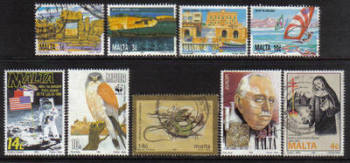 Malta Stamps 1990s Selection - USED (e903)