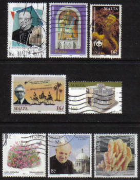 Malta Stamps 2000s Selection - USED (e904)