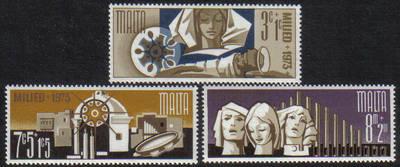 Malta Stamps SG 0507-09 1973 Christmas - MINT