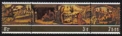 Malta Stamps SG 0549-51 1975 Christmas - MINT