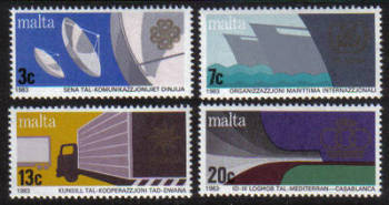 Malta Stamps SG 0714-17 1983 Anniversaries and Events - MINT