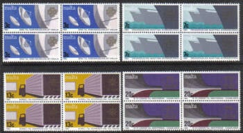 Malta Stamps SG 0714-17 1983 Anniversaries and Events - Block of 4 MINT