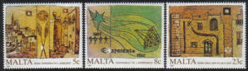 Malta Stamps SG 0806-08 1987 Anniversaries and Events - MINT
