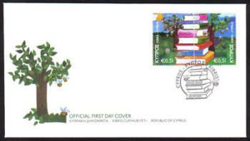 Cyprus Stamps SG 1219-20 2010 Europa Childrens books - Official FDC