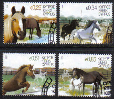 Cyprus Stamps SG 2012 (a) Horses - USED (g021)