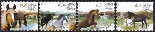 2012 a Cyprus stamps - Horses