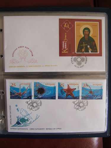 2007 Cyprus Stamps - album FDC\\