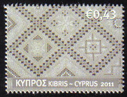 Cyprus Stamps SG 1242 2011 43c - MINT