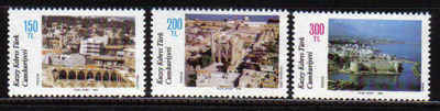 North Cyprus Stamps SG 230-32 1988 Tourism - MINT