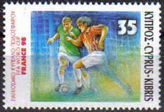 Cyprus Stamps SG 938 1998 France World cup football soccer - MINT