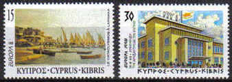 Cyprus Stamps SG 939-40 1998 Europa Festivals - MINT