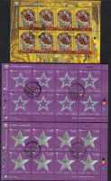 Cyprus Stamps SG 1207-09 2009 Christmas on Full Sheets - CTO USED (b658)